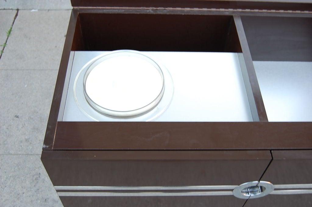 Laminate Bar/ Cabinet by Pierre Cardin