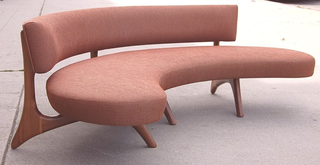 Floating Curved Sofa 2