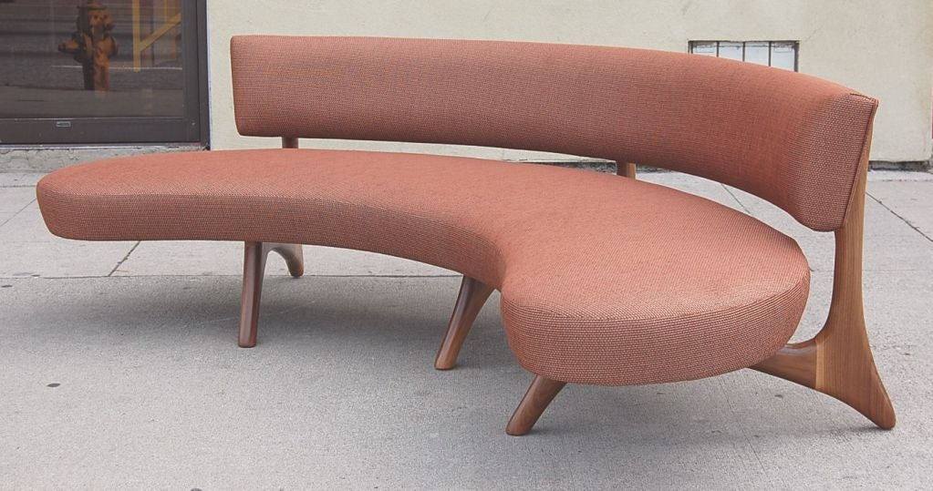 Floating Curved Sofa 4