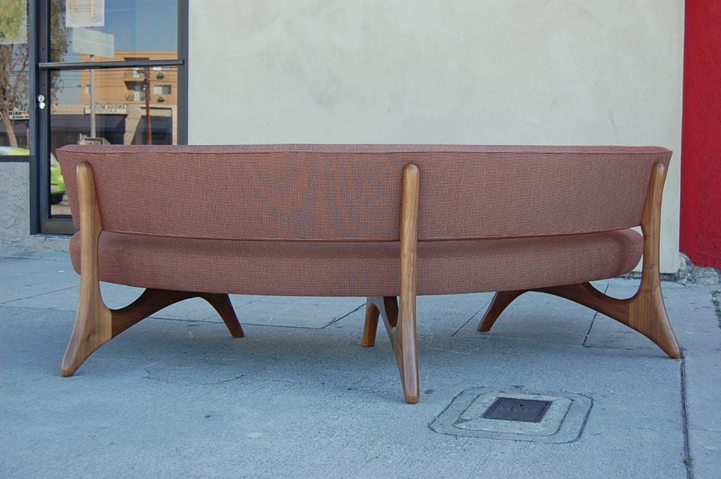 Floating Curved Sofa 6