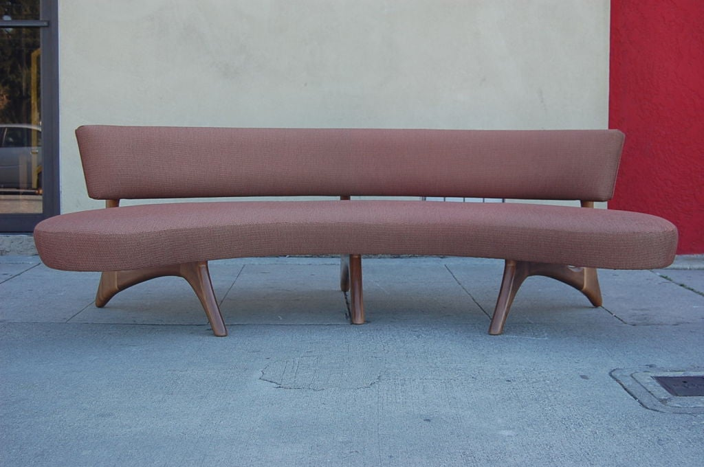 Floating Curved Sofa 7