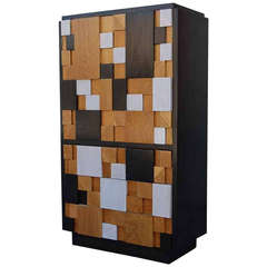 Brutalist Cabinet with Drawers by Lane