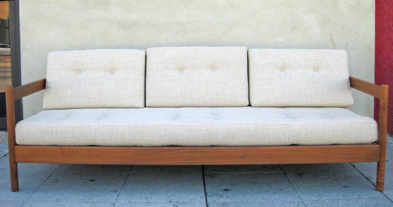 Danish Set Sofa And Matching Chair At 1stdibs