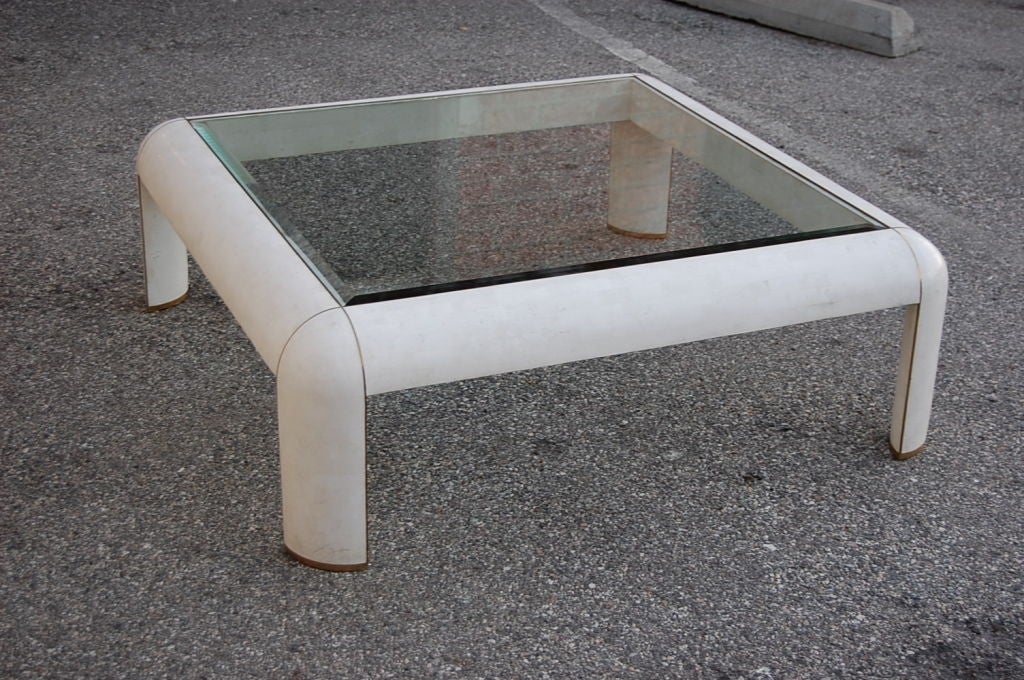 Tesselated Stone Coffee Table By Maitland Smith At 1stdibs