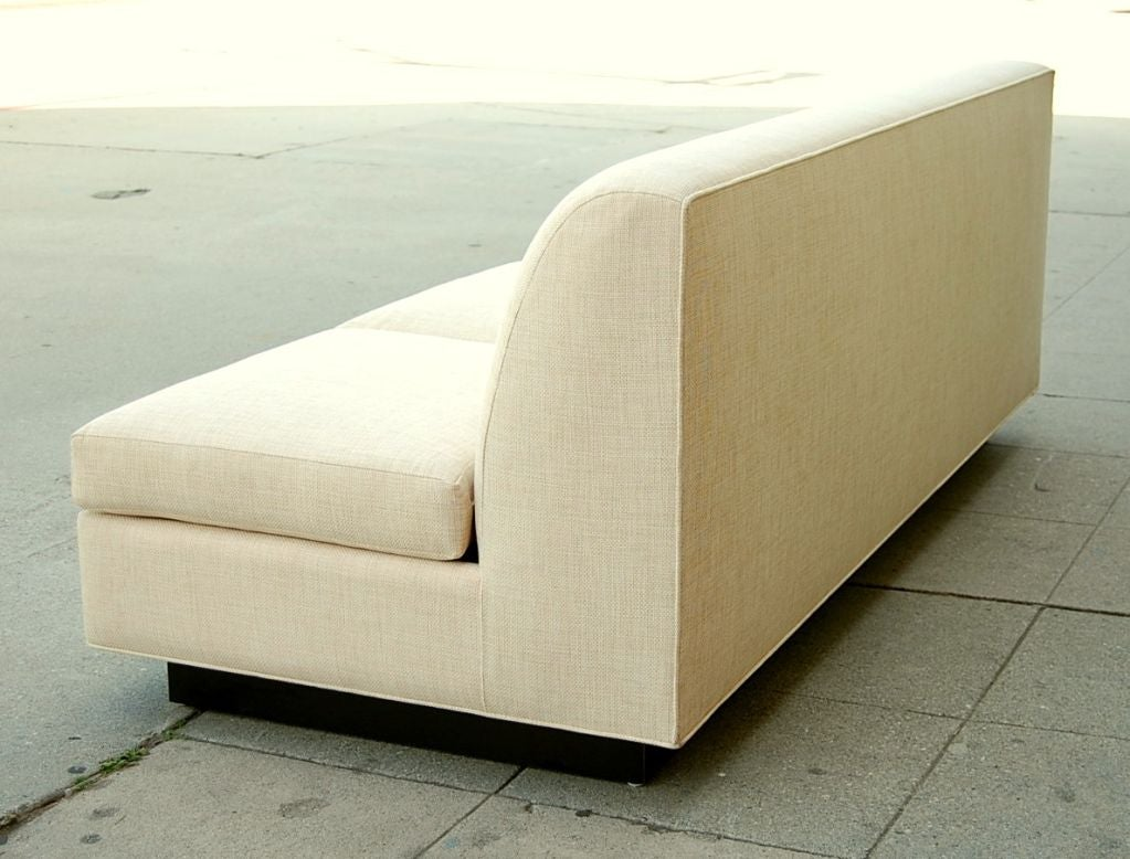 Minimal French Sofa by Pierre Folie for Jacques Charpentier 5