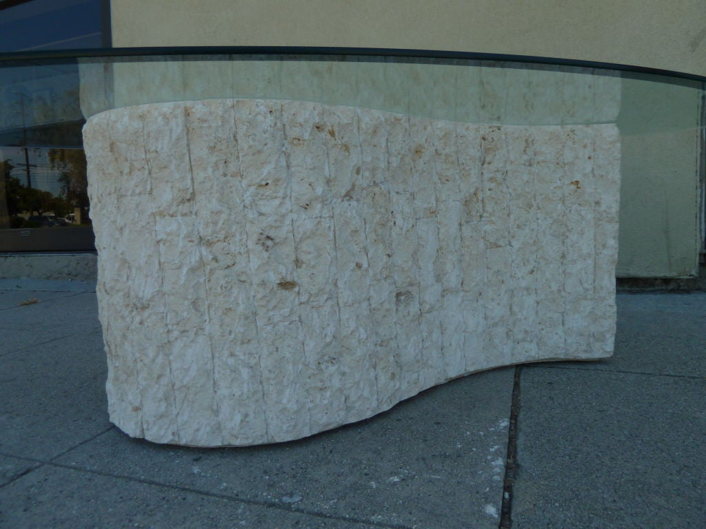 Tessellated Marble Whimsical Coffee Table By Magnussen