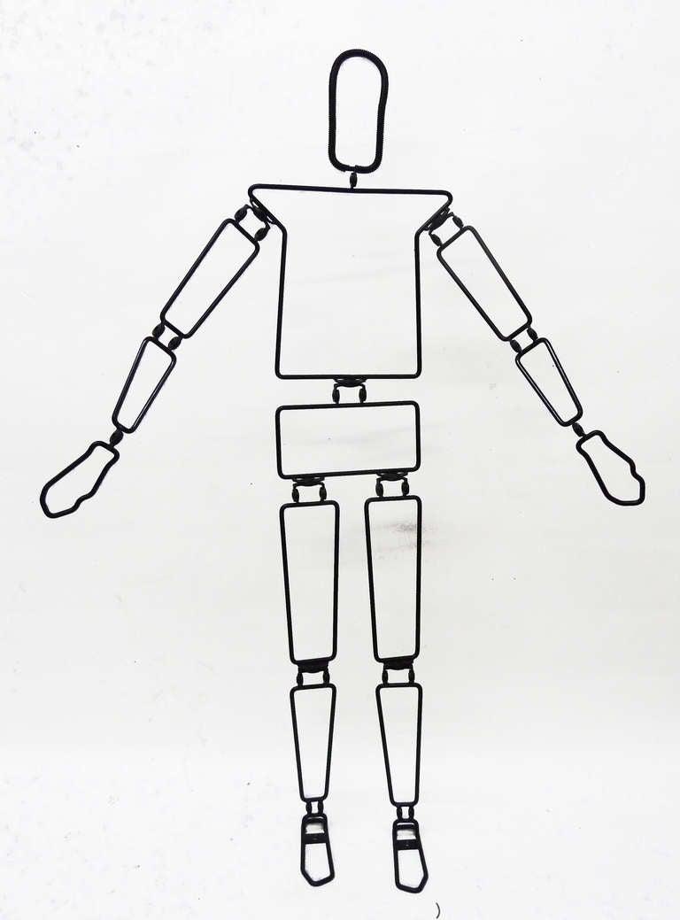 Bendable Minimalist Humanoid Mannequin 2