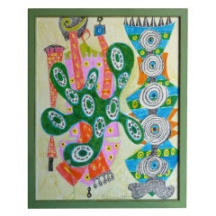 Whimsical Abstract by Geraldine Neuwirth