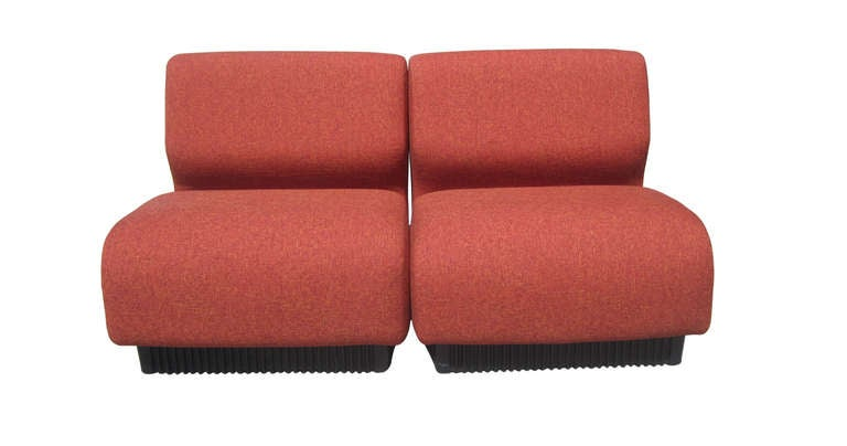 Slipper Chairs By Don Chadwick For Herman Miller, Pair 3
