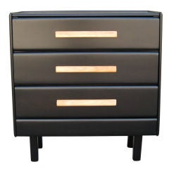 Two Tone Three Drawer Dresser