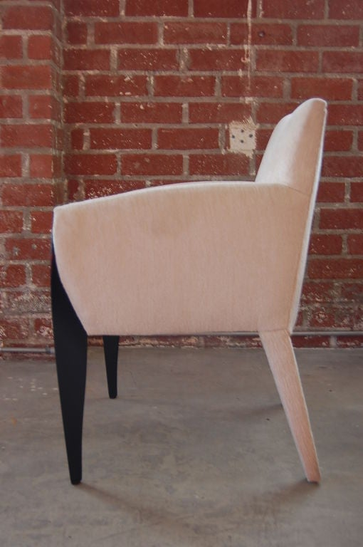 A Pair Of Armchairs By Dakota Jackson At 1stdibs