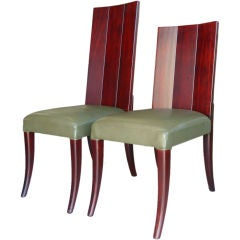 A Set of 12  Dining Chairs by Dialogica