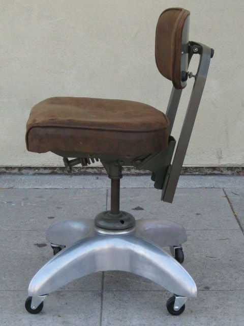 industrial style office chair. Modren Style Industrial Style American MidCentury Adjustable Office Chair By GoodForm  In Fair Condition For Sale Intended A