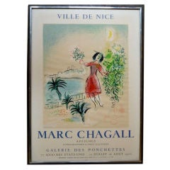 French Charming Poster by Marc Chagall