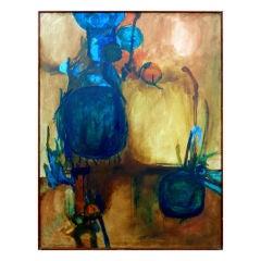 Big Still Life Oil on Canvas Painting