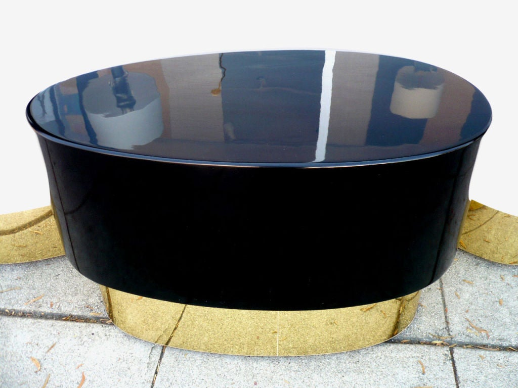 Ying And Yang Coffee Tables Att To Karl Springer At 1stdibs