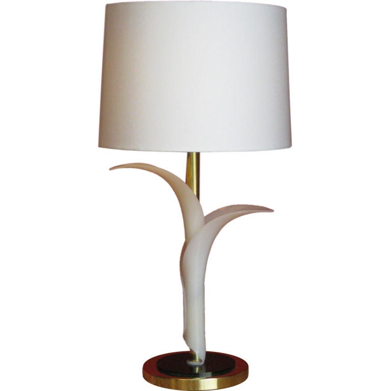 Canadian Charming Table Lamp by Rougier For Sale