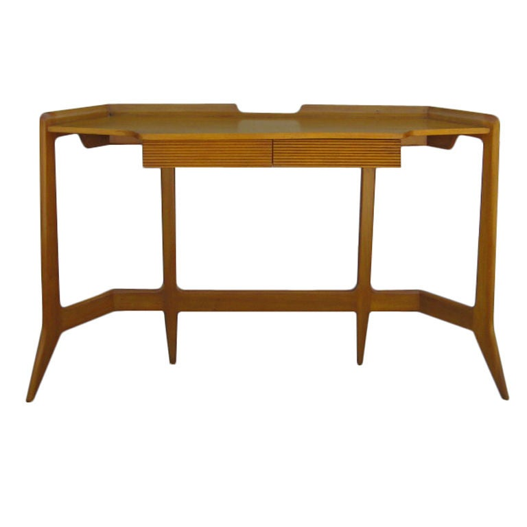 petite writing console after gio ponti at 1stdibs. Black Bedroom Furniture Sets. Home Design Ideas