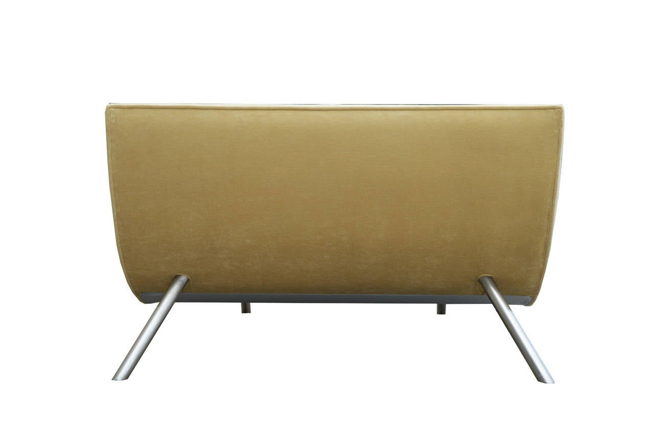 1980 39 s wave chaise lounge for sale at 1stdibs for Chaise for sale