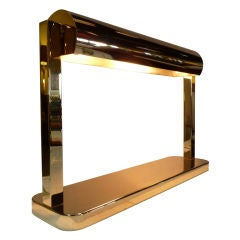 Brass Desk Lamp by Paul Laszlo