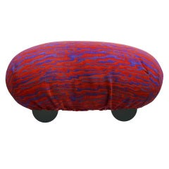 """Rare """"Le Bugie"""" Pouf by Alessandro Becchi for Giovannetti"""