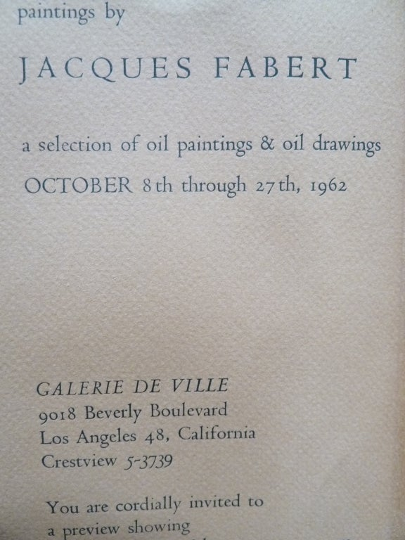 French Mid-Century Woman by Jacques Fabert In Excellent Condition In Pasadena, CA