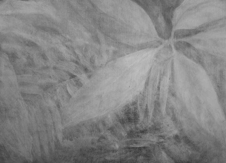 Monochrome Elephant Painting By Joseph L. Klein III 3