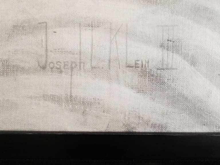 Monochrome Elephant Painting By Joseph L. Klein III 4