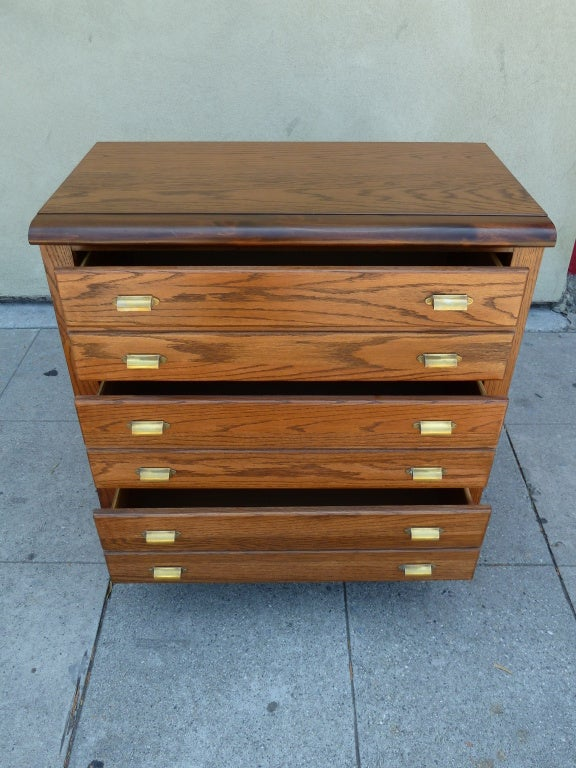 this mid century three drawer dresser by bassett is no longer