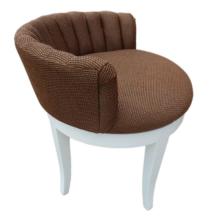 Hollywood Regency Vanity Chair at 1stdibs