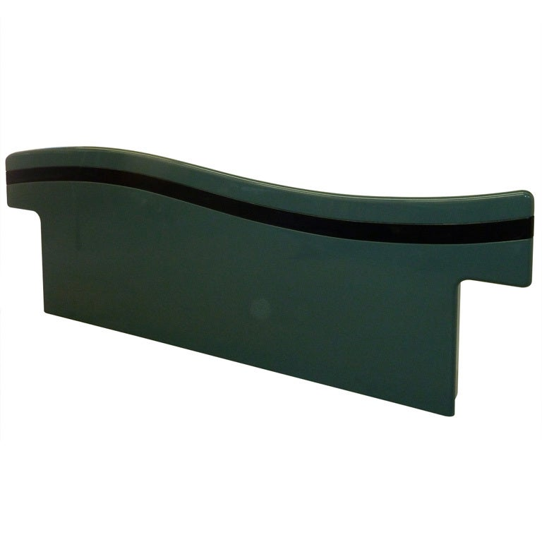 Canadian Lacquered King Size Headboard by Rougier
