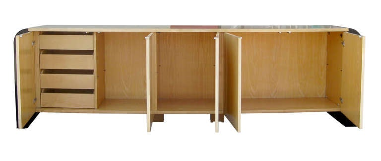 Nine Foot Long Italian Credenza by Aldo Tura 5