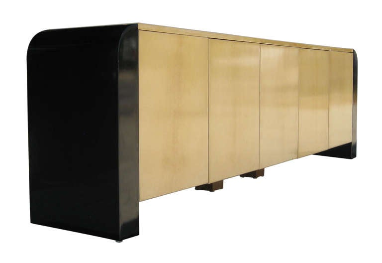 Nine Foot Long Italian Credenza by Aldo Tura 2