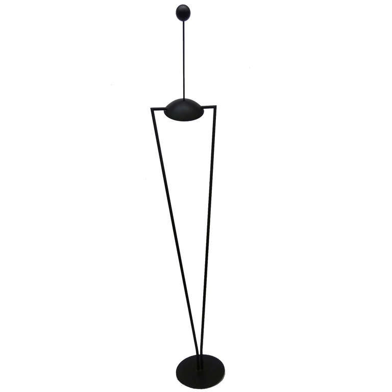 Geometric Floor Lamp / Torchiere by Ron Rezek