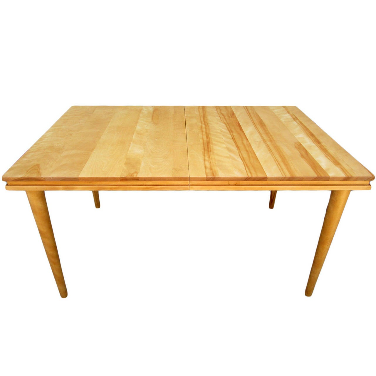 Russel Wright Solid Maple Dining Table at 1stdibs : 1l from www.1stdibs.com size 1280 x 1280 jpeg 63kB