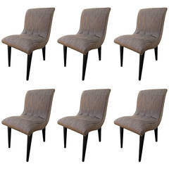 Set of Six Dining Chairs by Russel Wright