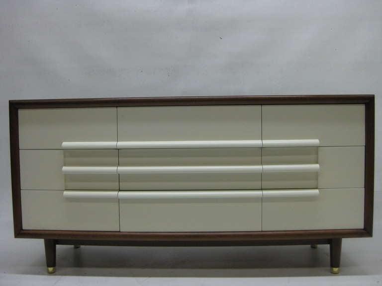 Mid-Century Modern Mid-Century Nine Drawer Dresser by Furniture Guild of California