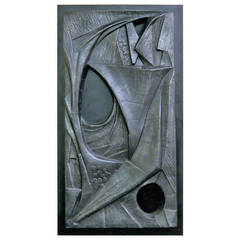Abstract Wall Relief signed DeGroot
