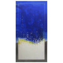 Huge Abstract Painting by Gerald Campbell