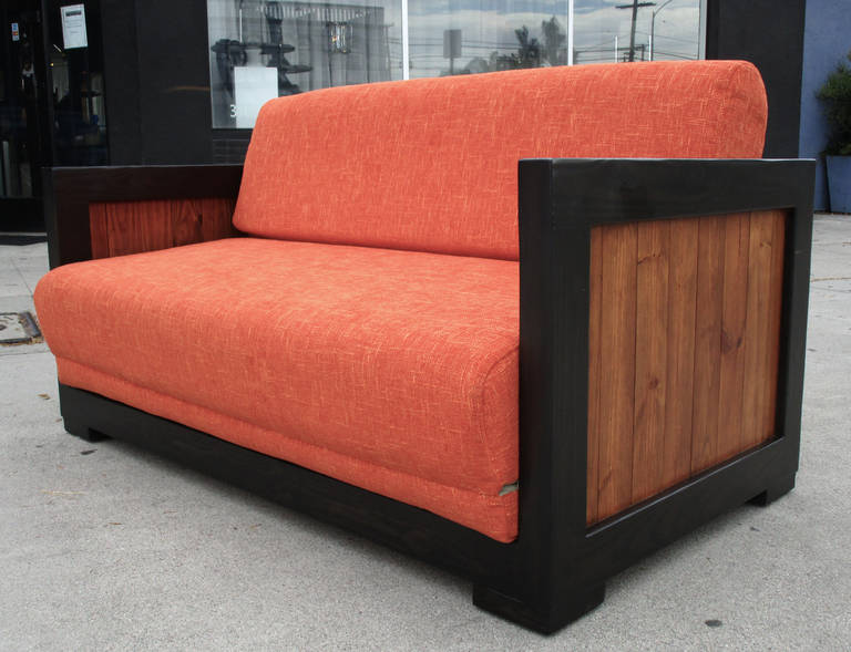Astounding Mid Century Modern Pull Out Sofa Bed At 1Stdibs Caraccident5 Cool Chair Designs And Ideas Caraccident5Info