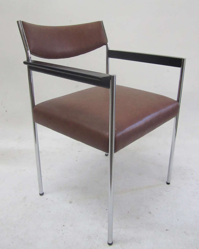 1970s French Office Chair At 1stdibs