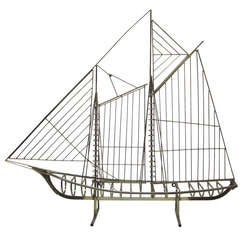 Curtis Jere Wall-Mounted Sailboat