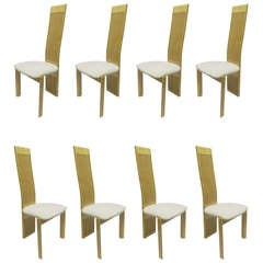 Italian Chairs by Pietro Costantini, Set of Eight