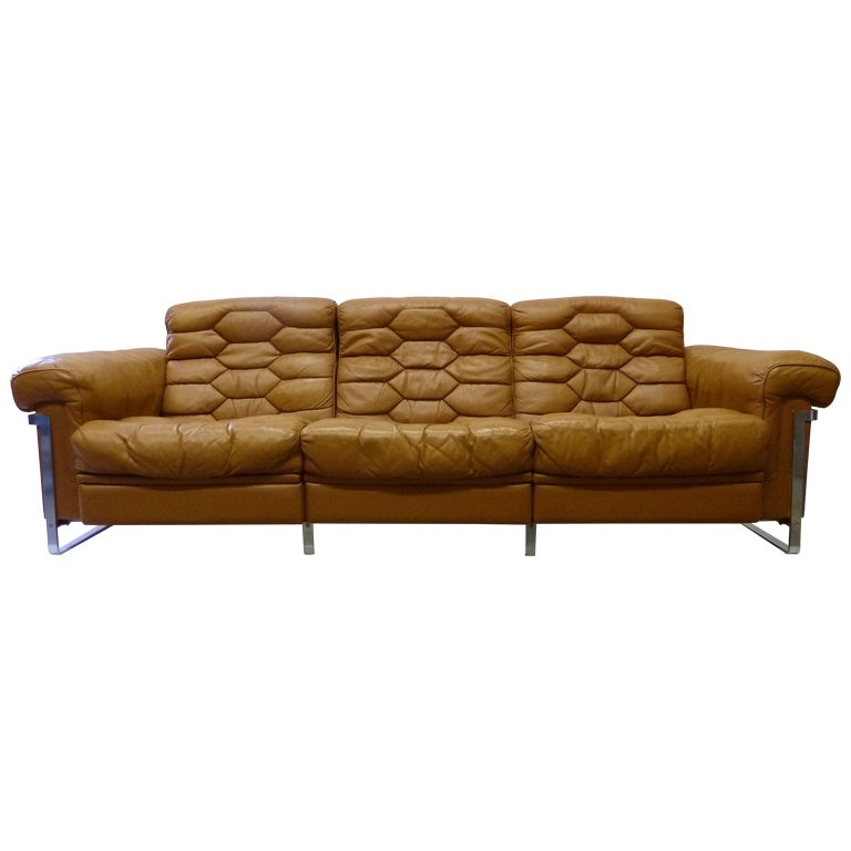 Adjustable three seat sofa by de sede at 1stdibs for Sofas 50 sarria de ter