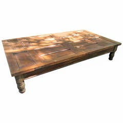 Grand Mahogany Coffee Table