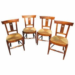 Dutch Reed Chairs