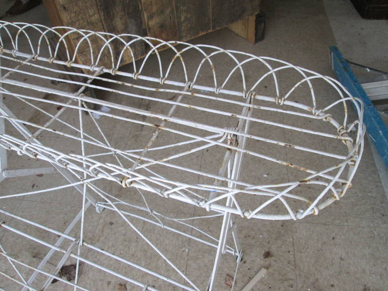 Frenchwire Plant Stand In Excellent Condition For Sale In Southampton, NY