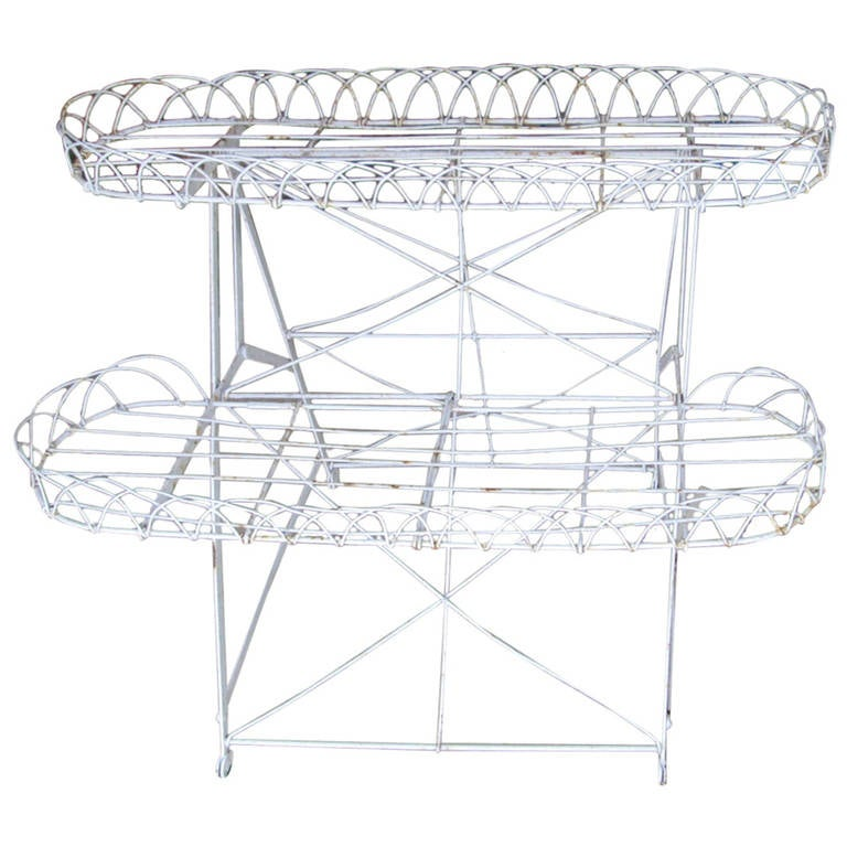 Frenchwire Plant Stand 1