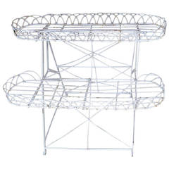 Frenchwire Plant Stand