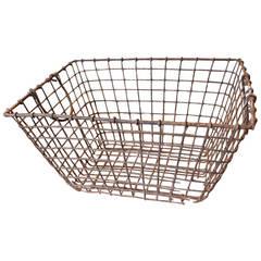 English Wire Basket